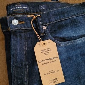 "Lucky Brand ""Lucky You"" Handcrafted Jeans"